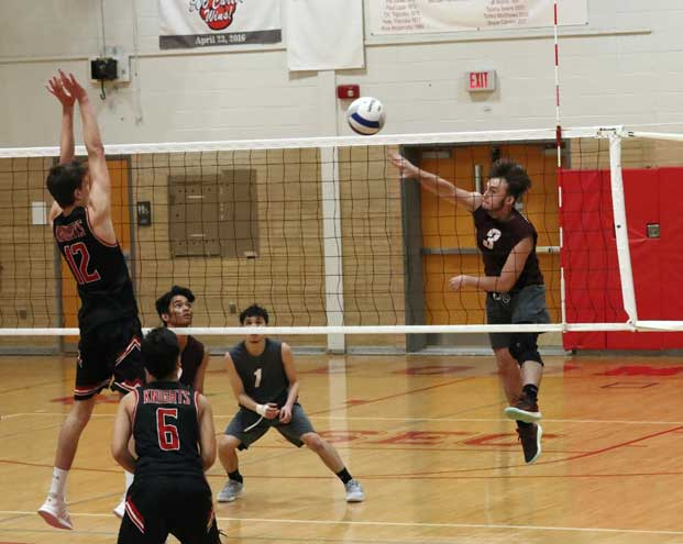 Bloomfield HS boys volleyball team advances to ECT semifinals