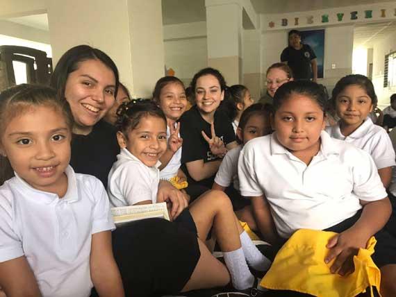 Service in El Salvador, a pilgrimage of DOVEs