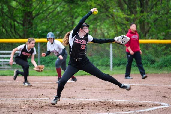 UPDATED: Columbia HS softball team rallies to advance in ECT