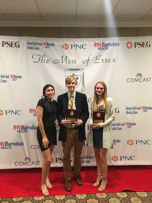 UPDATED: Columbia HS' Jack Woods, Cecilia Munoz and Meredith Meyers honored at The Men of Essex awards night