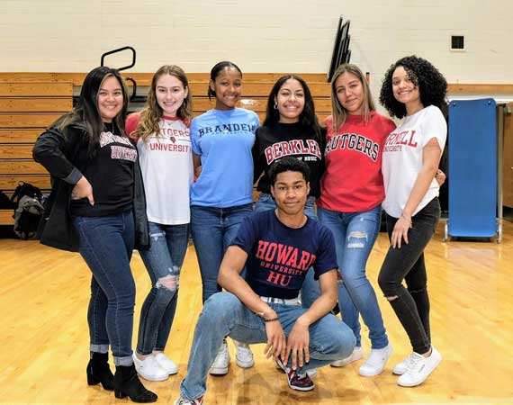 WOHS Class of 2019 celebrates College Decision Day