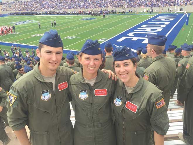 USAF Academy graduates 1st female cadet from WO