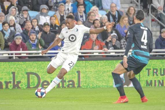 Mason Toye thrives for Minnesota United soccer