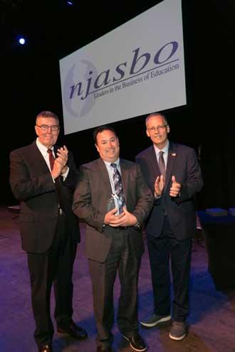 Livingston Schools BA receives award for distinguished service