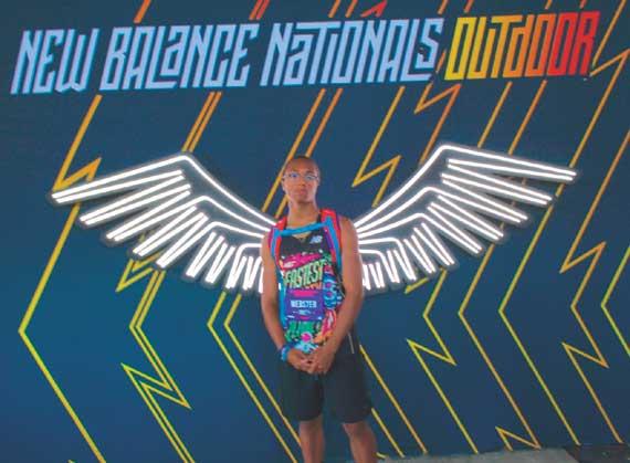 Webster soars at Nationals to end great GRHS track career