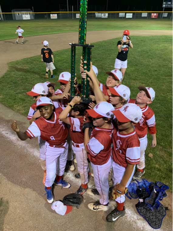 SOM Cougars 10U baseball team captures New Providence Green League title