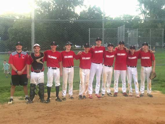 Columbia 18U baseball enjoys banner summer