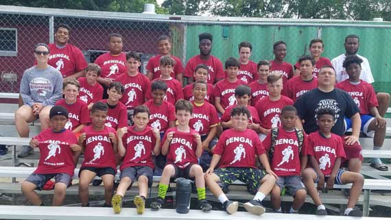 Junior Bengals football getting ready for the season