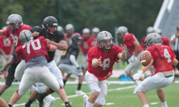 Nutley HS football team aims to start and finish strong this season