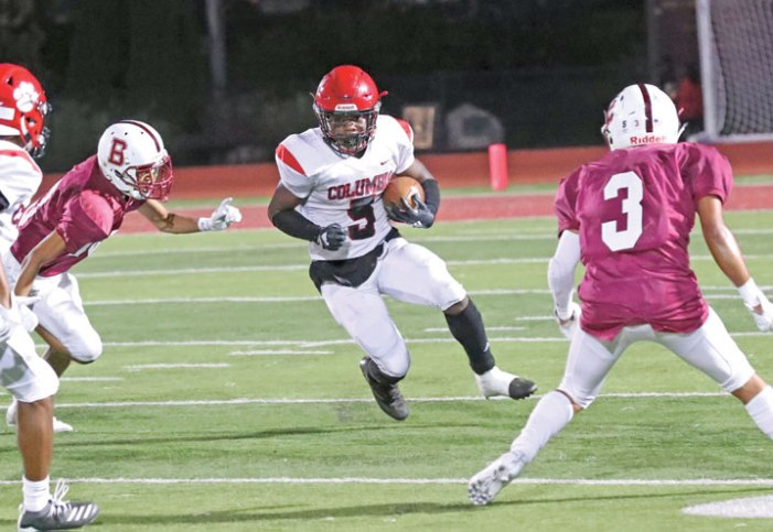 Columbia HS football team defeats Bayonne, 10-7, on Drew Sinclair's FG with no time left