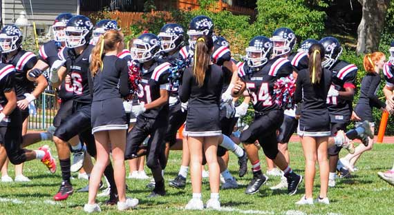 PHOTOS: Glen Ridge HS football home opener