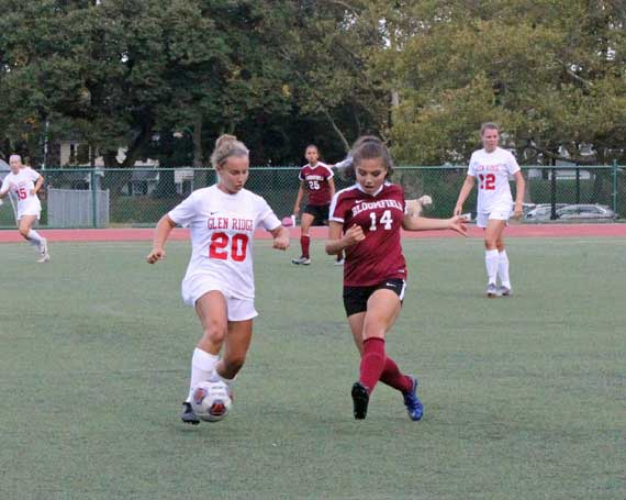 PHOTOS: Glen Ridge HS girls soccer team defeats Bloomfield for first win of season