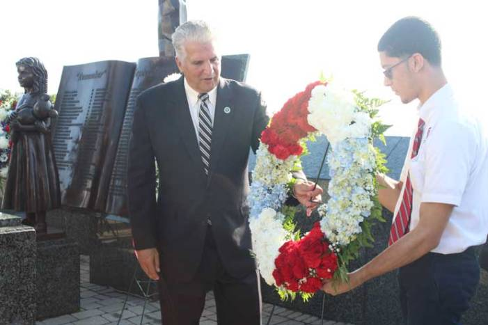 Essex County remembers 9/11 at Eagle Rock overlook