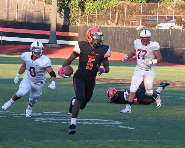 Orange HS football team holds off Bloomfield in overtime for fourth straight win