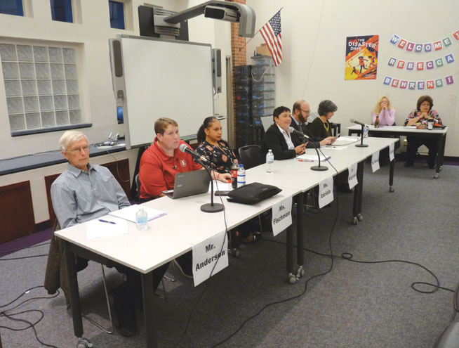 Bloomfield BOE candidates debate the issues at forum