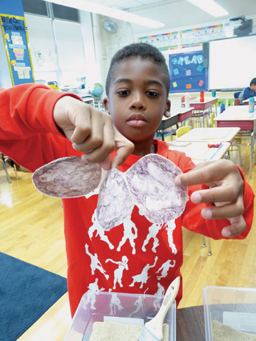 Watsessing 3rd-grade class becomes a paleontology lab