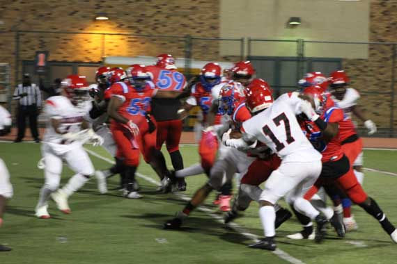 East Orange Campus HS football team defeats Columbia; clinches divisional title