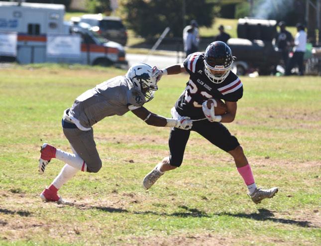 Glen Ridge HS football team finishes season