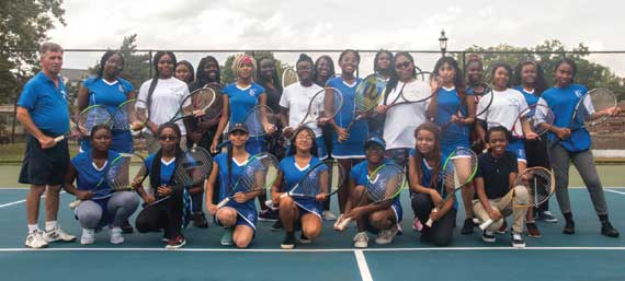 Irvington HS girls tennis team wins SEC-Independence Division