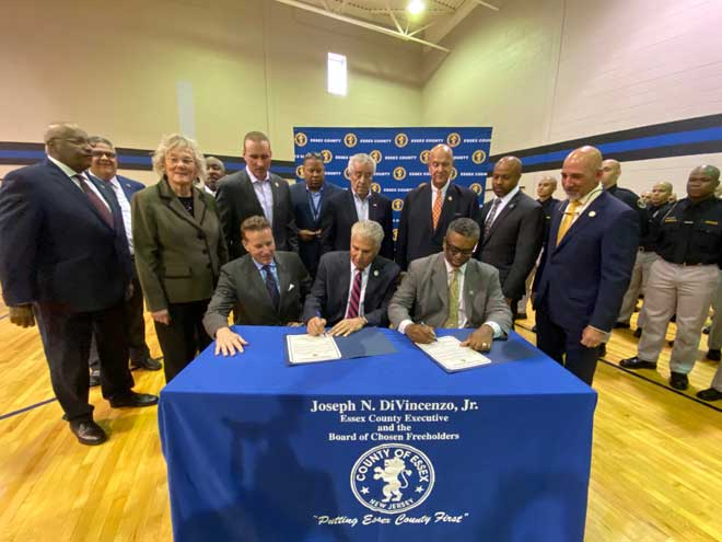 County purchases of police academy from Essex County College