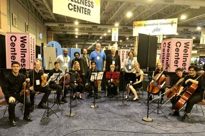 CHS string musicians play in Atlantic City as NJSBA convention