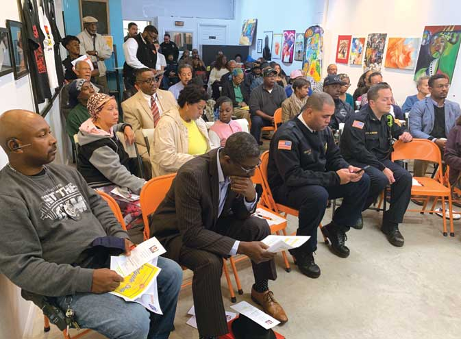 South Ward community meeting draws out many in Orange