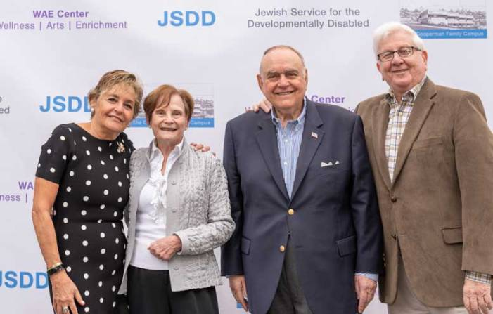 JSDD celebrates the Cooperman Family Campus groundbreaking