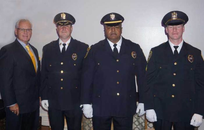 WOPD officers promoted in Oct. 18 ceremony