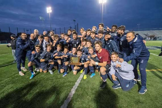 Seton Hall Prep soccer team 'dream to coach' in state title year