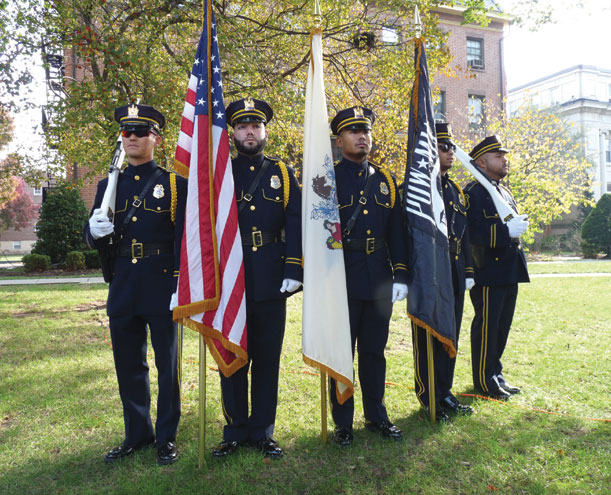 Veterans Day celebrated in town