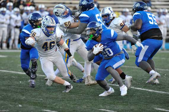 PHOTOS: Irvington HS football team defeats Cranford in playoff first round