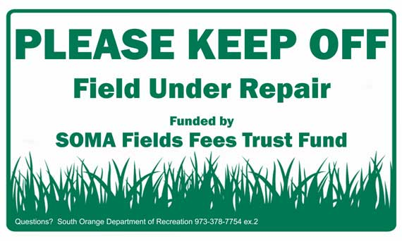 South Orange and Maplewood athletic fields close for the season, Nov. 11