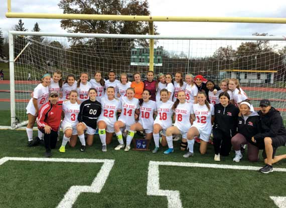 UPDATED: Glen Ridge HS girls soccer team captures eighth straight North 2, Group 1 sectional title