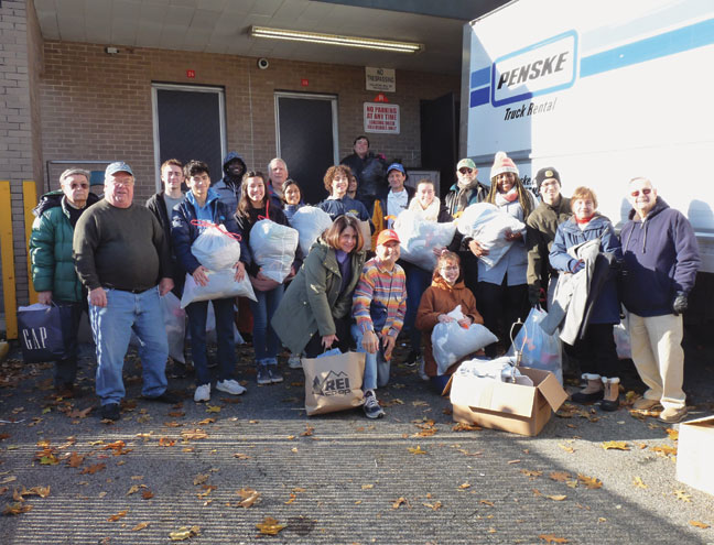 Glen Ridge residents give to the needy