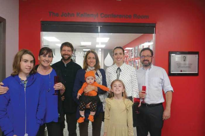 Leukemia and Lymphoma Society honors local man