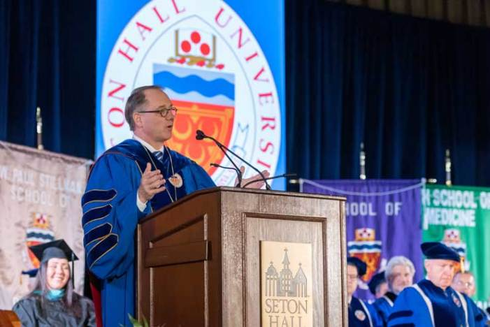 Seton Hall University celebrates investiture of new president