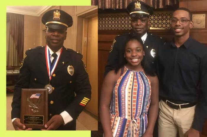 West Orange police officer recognized for service to country and community