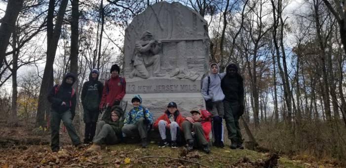 West Orange Boy Scouts visit Gettysburg Battlefield