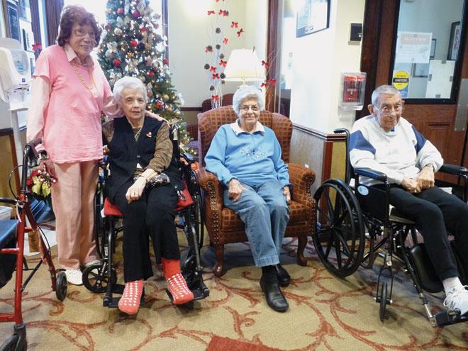 Seniors share childhood memories of Christmas