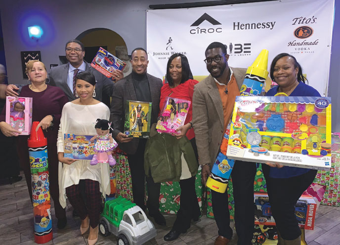 East Orange holiday party and toy drive celebrated