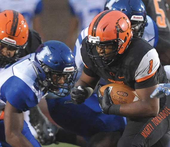 Orange HS football players earn conference honors