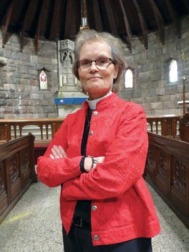 Reverend returns from sabbatical