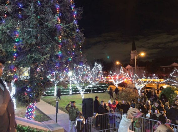 Irvington hosts Holiday Lighting Spectacular