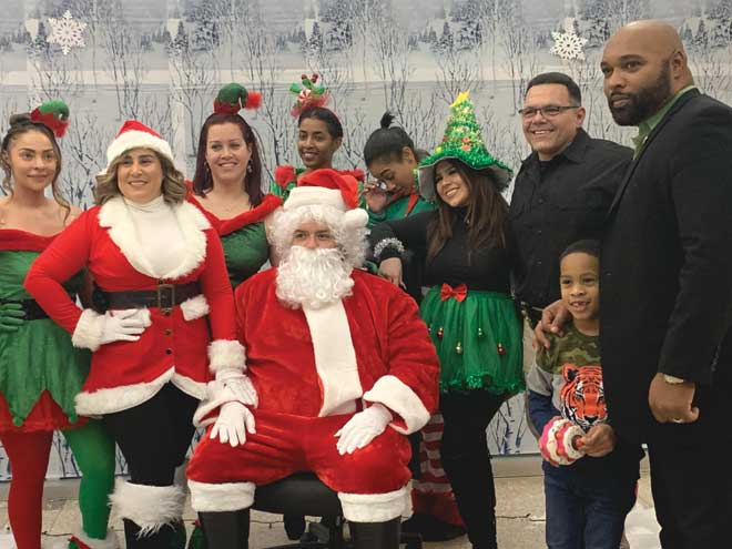 OPD hosts toy giveaway this holiday season