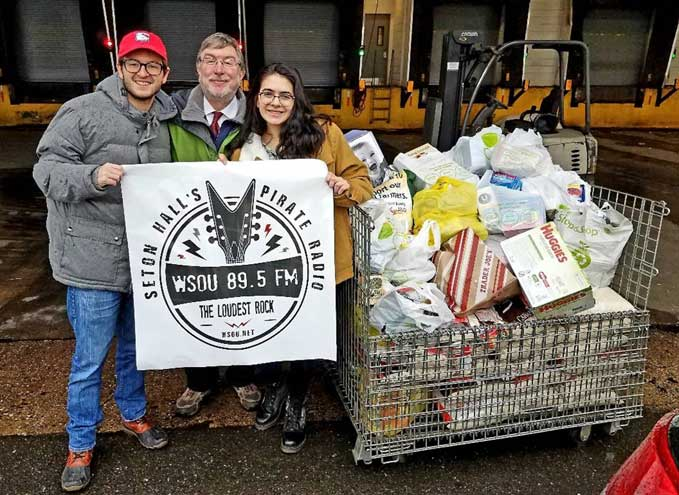 WSOU collects record amount for annual food drive