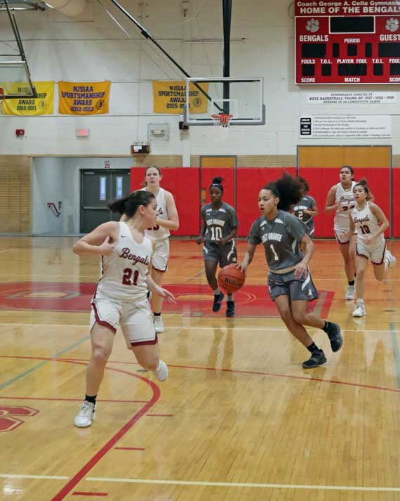 No. 2 seed East Orange Campus HS girls basketball team tops Columbia to advance to ECT semifinals