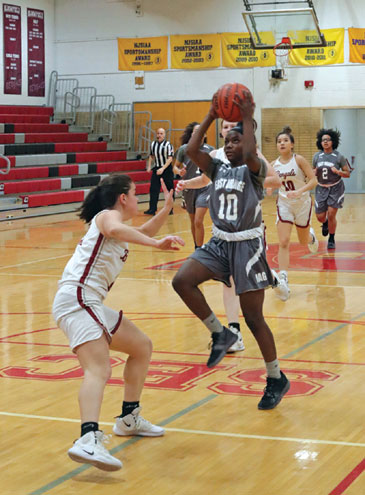 East Orange Campus HS girls basketball team improves to 12-2