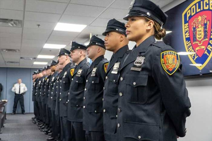 NJ Transit welcomes 16 new police recruits