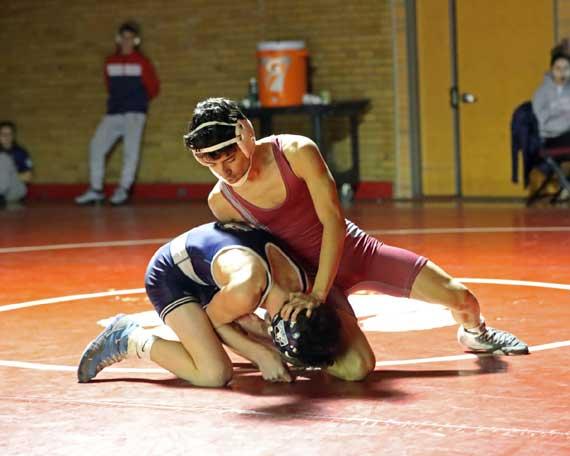 PHOTOS: Bloomfield HS wrestling team defeats West Orange