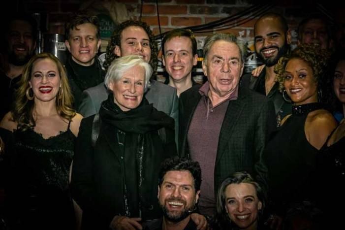 Andrew Lloyd Webber, Glenn Close attend Paper Mill show